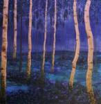Obras de arte: Europa : Espa�a : Andaluc�a_C�diz : Cadiz : Bosque Nocturno I
