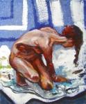 Obras de arte: Europa : España : Catalunya_Tarragona : Masllorenç : Desnudo 1 - Naakt 1