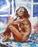 Obras de arte: Europa : España : Catalunya_Tarragona : Masllorenç : Desnudo 2 - Naakt 2