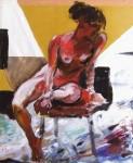 Obras de arte: Europa : Espa�a : Catalunya_Tarragona : Maslloren� : Desnudo 3 - Naakt 3