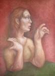 Obras de arte: Europa : España : Aragón_Zaragoza : zaragoza_ciudad : Mujer hablando