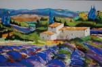 Obras de arte: Europa : España : Euskadi_Bizkaia : barakaldo : campos de lavanda