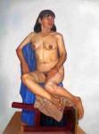Obras de arte: America : Perú : Callao : callao-bellavista : desnudo mujer 01