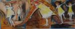 Obras de arte: Europa : España : Euskadi_Bizkaia : barakaldo : las bailarinas de circo