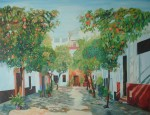 Obras de arte: Europa : España : Andalucía_Sevilla : paso_2 : Barrio de Santa Cruz