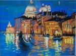 Obras de arte: Europa : España : Euskadi_Bizkaia : barakaldo : atardece en venecia