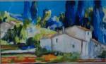 Obras de arte: Europa : España : Euskadi_Bizkaia : barakaldo : paisaje de montaña I