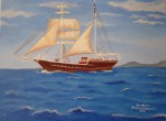 Obras de arte: Europa : España : Galicia_Pontevedra : A_Guarda_(La_Guardia) : BARCO PARA DANI
