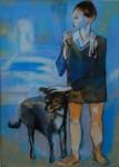 Obras de arte: Europa : España : Euskadi_Bizkaia : barakaldo : homenaje a picasso