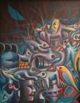 Obras de arte: Europa : España : Valencia : Burjassot : cosmovisión