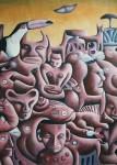 Obras de arte: Europa : España : Valencia : Burjassot : cosmovisión con la media luna