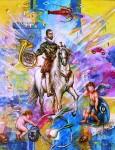Obras de arte: Europa : España : Andalucía_Málaga : Velez_Málaga : El caballero alegre