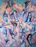 Obras de arte: Europa : España : Andalucía_Jaén : Jaen_ciudad : Bien y Mal-purgatorio I