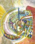 Obras de arte: America : Perú : Lima : chosica : calavera