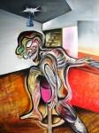 Obras de arte: America : El_Salvador : San_Salvador : Col.Escalon : siempre deseando,,, estar/estuvieras,,, en algun lugar