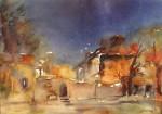 Obras de arte: Europa : Francia : Ile-de-France : PARIS : Noche azul
