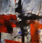 Obras de arte: America : Argentina : Buenos_Aires : ADROGUE : cruz y ficcion 1