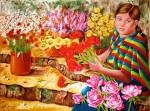 Obras de arte: America : Venezuela : Miranda : Caracas_ciudad : La Florista