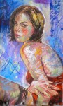 Obras de arte: America : Puerto_Rico : San_Juan_Puerto_Rico : Sanjuan : Mujer en rojo