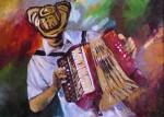 Obras de arte: America : Colombia : Santander_colombia : Bucaramanga : Acordeonero