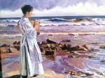 Obras de arte: Europa : España : Comunidad_Valenciana_Castellón : burriana : En la orilla