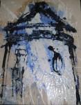 Obras de arte: Europa : España : Catalunya_Tarragona : Cambrils : blau-blanc