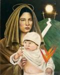 Obras de arte: America : Venezuela : Miranda : Caracas_capital : Camino a la cruz y a la gloria