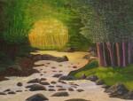 Obras de arte: Europa : España : Catalunya_Barcelona : Santpedor : El riu de les fades