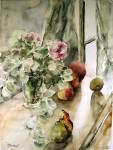 Obras de arte: Europa : Francia : Ile-de-France : PARIS : Bouquet aux branches d'eucalyptus