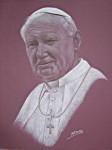 Obras de arte: Europa : España : Comunidad_Valenciana_Castellón : Soneja : El Papa Juan Pablo II