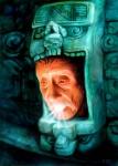 Obras de arte: America : México : Veracruz-Llave : Xalapa : Kinich Ahau (Dios del sol)