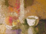 Obras de arte: Europa : España : Catalunya_Barcelona : Barcelona : Bodegón del tazón y fruta