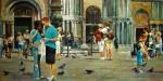 Obras de arte: America : Argentina : Buenos_Aires : Ciudad_de_Buenos_Aires : En Plaza San Marco