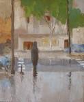 Obras de arte: Europa : Espa�a : Catalunya_Barcelona : Barcelona : Calles mojadas