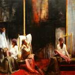 Obras de arte: America : Argentina : Buenos_Aires : Ciudad_de_Buenos_Aires : El Descanso de las Gitanas