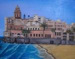 Obras de arte: Europa : Espa�a : Catalunya_Tarragona : Valls : sitges