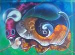 Obras de arte: America : Rep_Dominicana : Maria_Trinidad-Sanchez : El_Caribe : Perfil de una especie