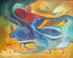 Obras de arte: America : Rep_Dominicana : Maria_Trinidad-Sanchez : El_Caribe : Reaccion a la tormenta