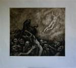 Obras de arte: Europa : Italia : Toscana : livorno : Figura volando
