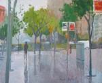 Obras de arte: Europa : Espa�a : Catalunya_Barcelona : Barcelona : Calles mojadas (2)