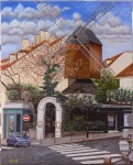 Obras de arte: Europa : España : Madrid : Serranillos_del_Valle : El Moulin de la Galette de Paris