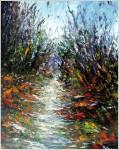 Obras de arte: America : Cuba : Sancti_Spiritus : SanctiSpiritus : Camino al bosque