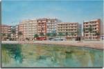 Obras de arte: Europa : España : Comunidad_Valenciana_Alicante : VILLENA : La playa del cura