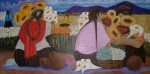 Obras de arte: Europa : España : Catalunya_Girona : Figueres : Lirios en Perú