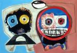 Obras de arte: Europa : España : Euskadi_Bizkaia : Dima : Leila y yo