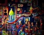 Obras de arte: America : Argentina : Santa_Fe : Rosario : El gran mercado de la fe