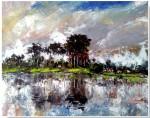Obras de arte: America : Cuba : Sancti_Spiritus : SanctiSpiritus : Paisaje con Costa