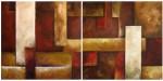 Obras de arte: Asia : Israel : Southern-Israel : beersheva : diptico tierra