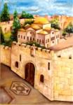 Obras de arte: Asia : Israel : Southern-Israel : beersheva : jerusalem, la puerta
