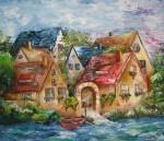 Obras de arte: Asia : Israel : Southern-Israel : beersheva : las casas de lea